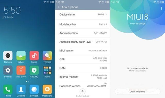 Can not Verify Update Package in Xiaomi MIUI 8