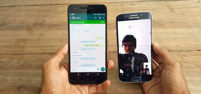 Record WhatsApp Video Call on Android