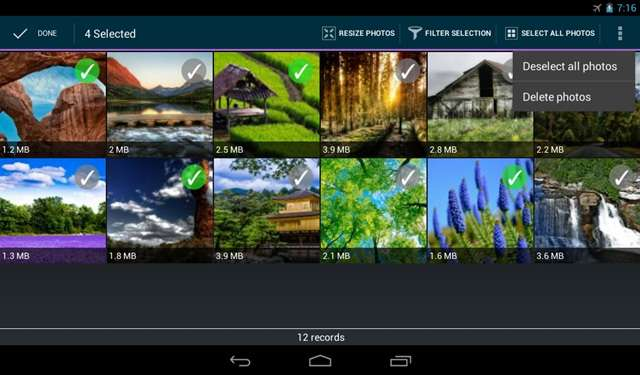 Reduce Picture Size on Android without Losing Quality