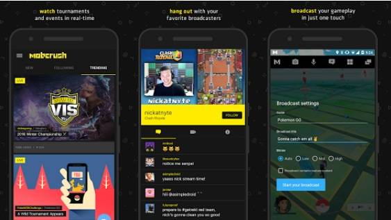 How to Live Stream Mobcrush in Android